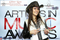 Glitter Rose dominates at the 3rd Annual Artists In Music Aw