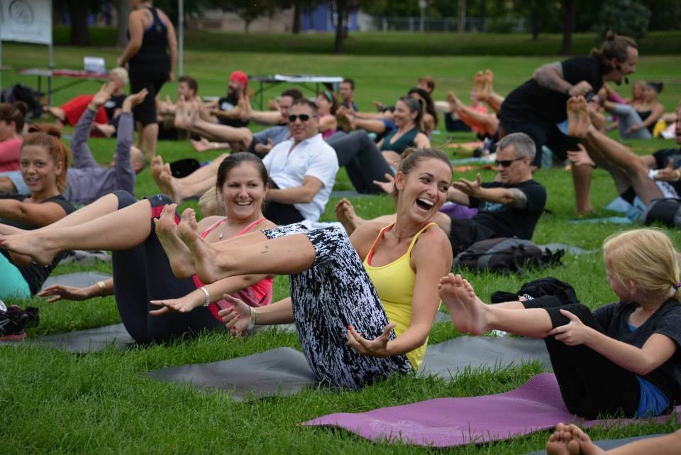 Yoga Rocks the Park