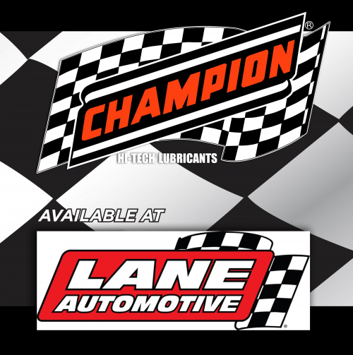 Champion Oil Now Available at Lane Automotive'