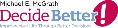 Logo for Decide Better'