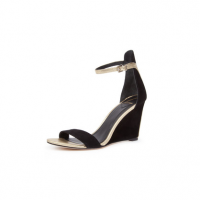 Brian Atwood Roberta Suede Wedge Sandal