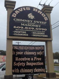 Davis Brothers Masonry & Chimney Sweep!