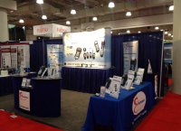 E Instruments Booth At AHR Expo at Javits Center NYC.