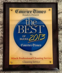 Minch Professional Cleaning Services, LLC Best of Bucks 2013