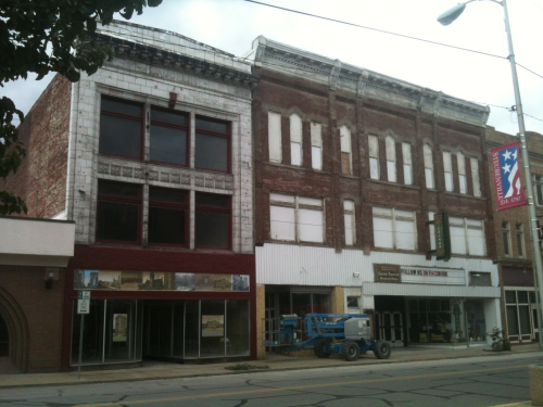 Grand Theater Restoration Project.'