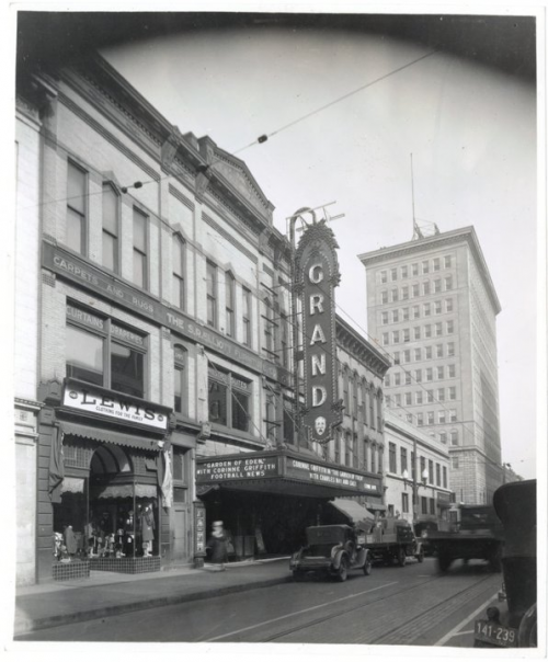 Grand Theater Restoration Project.'