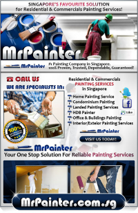 Mr Painter (Singapore) Pte Ltd™ Logo