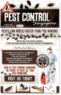 Singapore Pest Control Logo