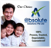 @bsolute Solutions Pte Ltd Logo