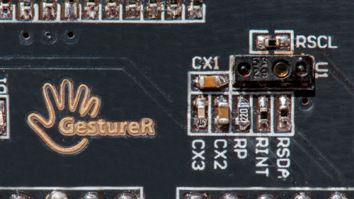 GestureR - Arduino-compatible Gesture Sensing Module.'