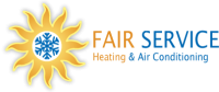 Fair Service Heating and Air Conditioning Logo