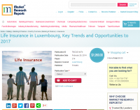 Life Insurance in Luxembourg to 2017