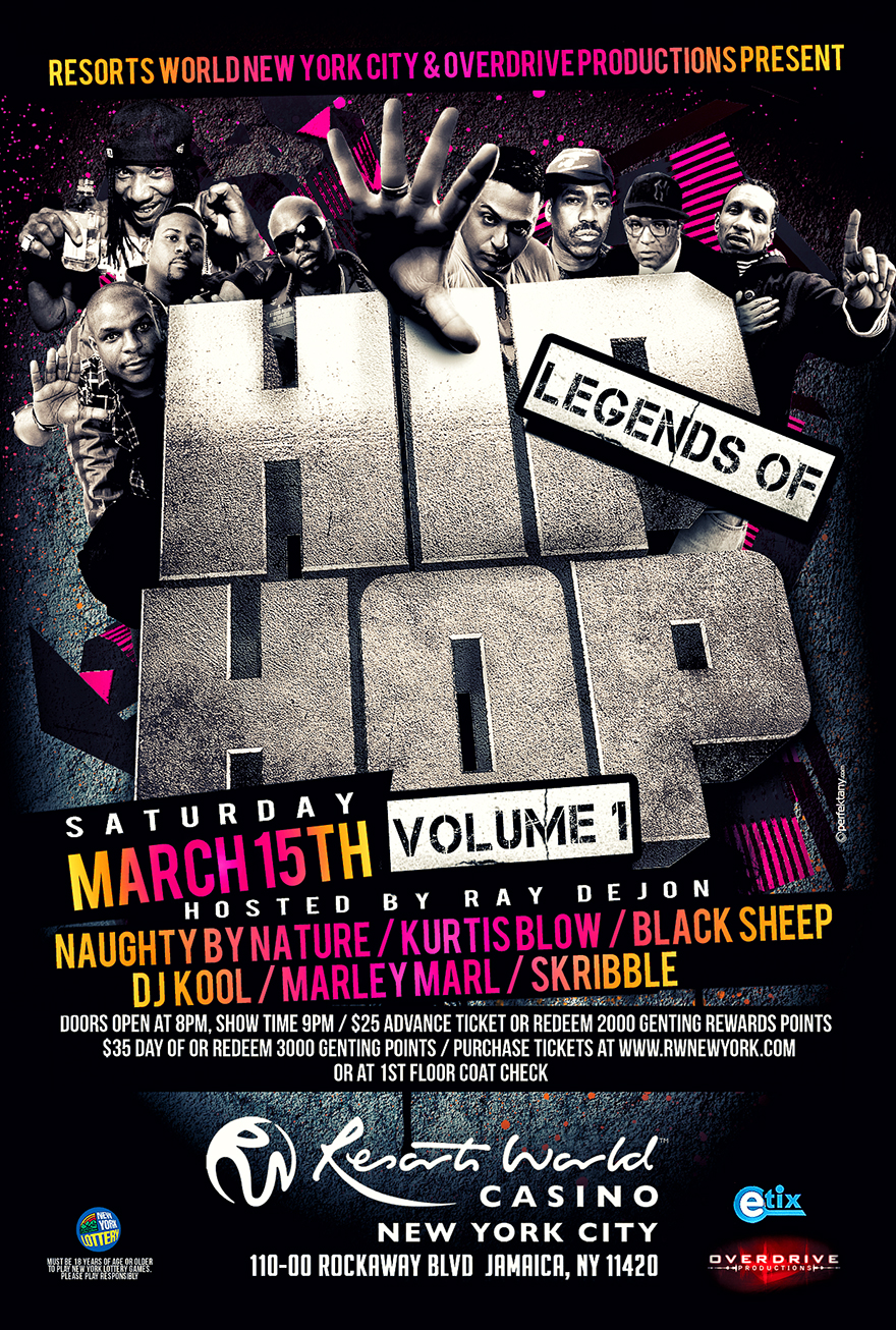 Legends of Hip Hop Concert Volume 1