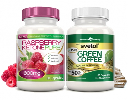 Raspberry Ketone Pure and Svetol Green Coffee Combo Pack Delivers Faster Weight Loss - Burns Fat and Curbs Appetite Mar 11, 2014