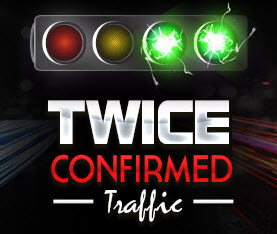 The Twice Confirmed Traffic Logo