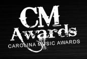Logo for Carolina Music Awards'