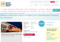 Railway Construction Sector in Poland 2014
