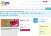Construction Chemicals Market in Poland 2014