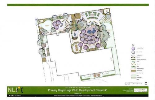 Spring Forest Preschool New Playground Design'