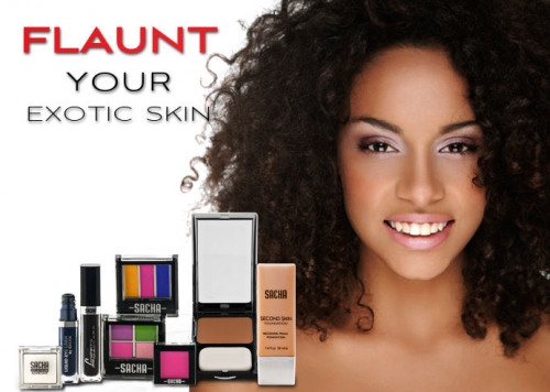 Sacha Cosmetics for exotic skin'