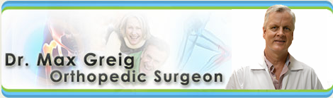 Dr. Max Greig Orthopedic Surgeon'