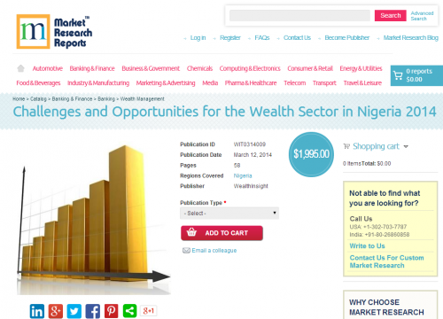 Challenges and Opportunities for the Wealth Sector in Nigeri'