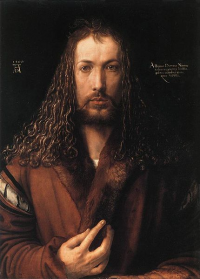 Self portrait of Albrecht Durer