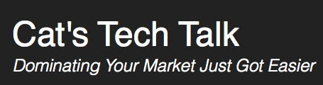 Cat's Tech Talk Logo