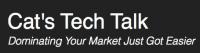 Cat's Tech Talk Logo