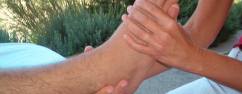 Foot massage'
