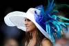 Kentucky Derby Hats on Display'