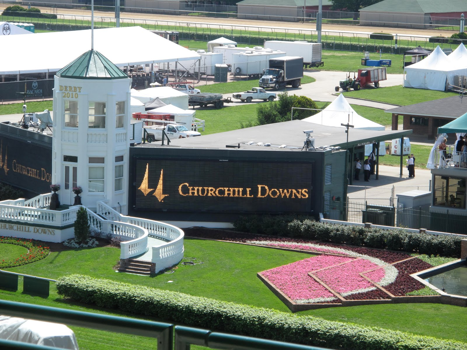 Churchill Downs Tote Board for the Race!