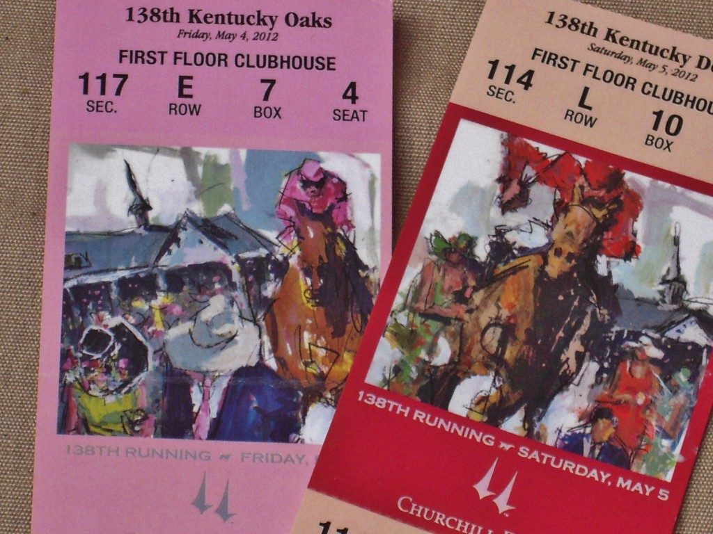 Packages Come With Authentic Tickets to the Race