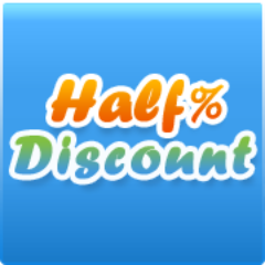 Company Logo For HalfDiscount'