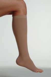 Open-Toed Knee High Stockings