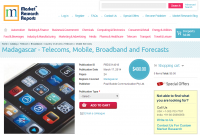 Madagascar - Telecoms, Mobile, Broadband and Forecasts