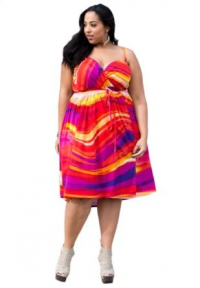 Sealed With A Kiss Designs Plus Size Lani Wrap Dress