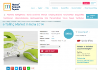 e-Tailing Market in India 2014