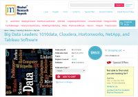 Big Data Leaders: 1010data, Cloudera, Hortonworks, NetApp