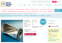 Opportunity in Aluminium Alloys Business in India 2014