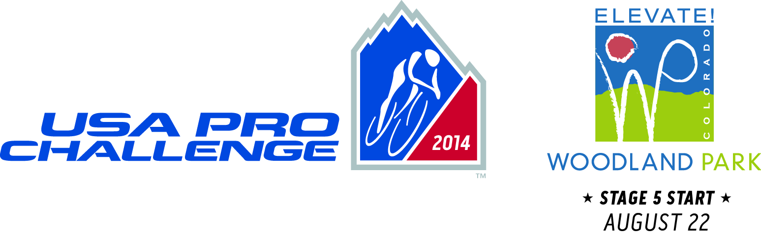 USA Pro Challenge Stage 5 Woodland Park Official Logo