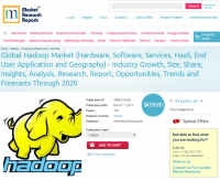Global Hadoop Industry Forecasts Through 2020