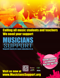 Musicians School and Community Music Programs.