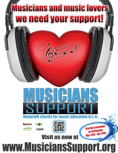 Musicians School and Community Music Programs.'