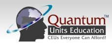 Logo for Quantum Units Education'