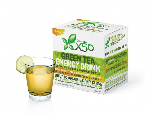 New Green Tea X50'