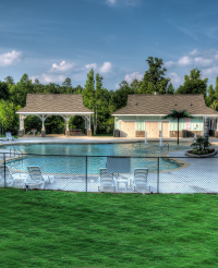 A resort style pool is set to open at Gregg&rsqu