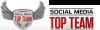 Social Media Top Team Logo'
