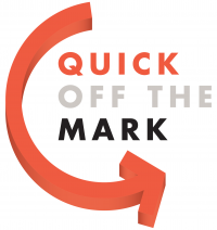 Quick off the Mark Trademarks Logo