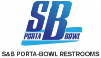 S & B Porta-Bowl Restrooms Logo